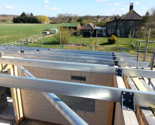 Bespoke acoustic roof