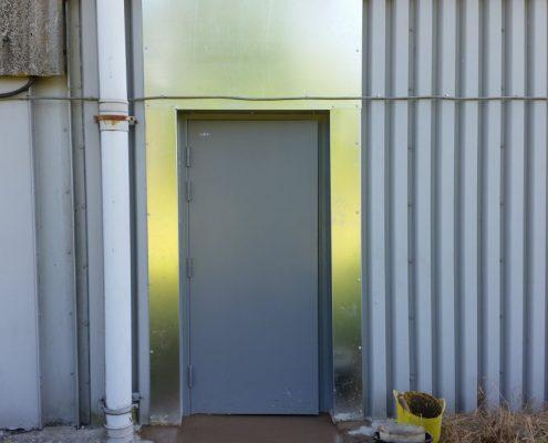 Supply & Installation of metal security door