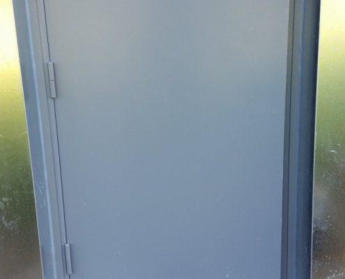 Supply & Installation of metal doors