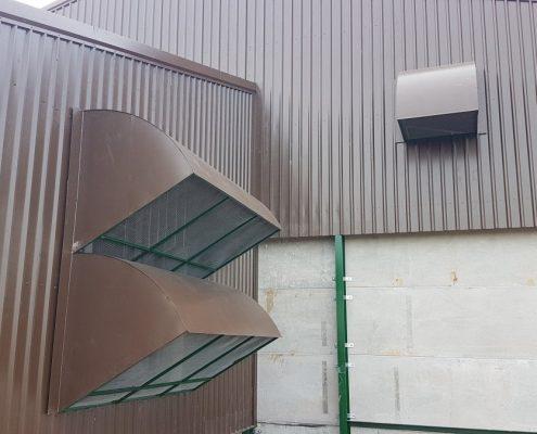 Grain Store ventilation cowels