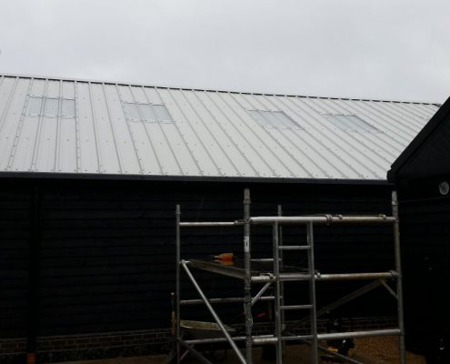 Installation of new composite panels