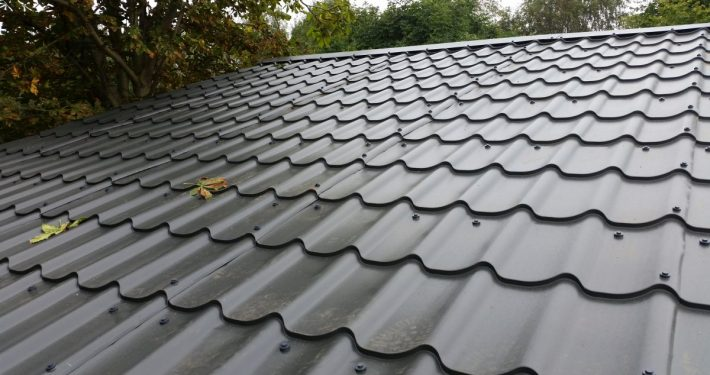 Tile Effect top roofing sheet
