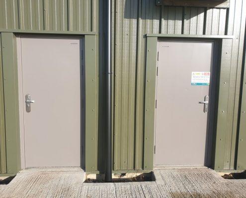 Metal Security Doors